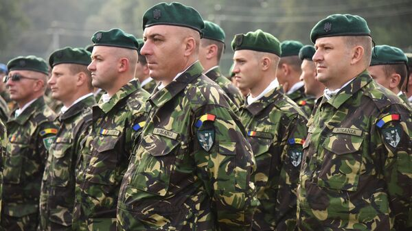 Военнослужащие армии Румынии