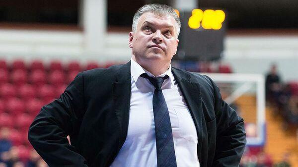 Главный тренер БК Локомотив-Кубань Евгений Пашутин