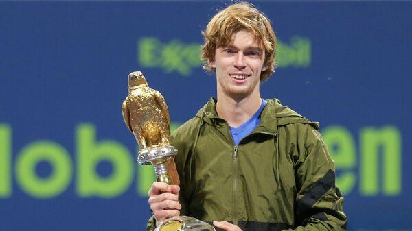Рублев стал победителем турнира в Дохе