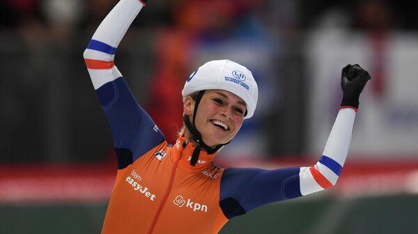 Конькобежка Ирен Схаутен (Нидерланды)