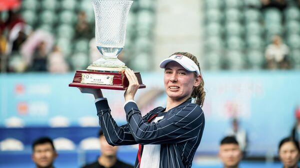 Теннисистка Екатерина Александрова