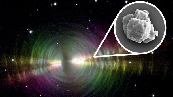 Предсолярные зерна карбида кремния, обнаруженные в Мурчисонском метеорите, являются звездной пылью, образовавшейся пять-семь миллиардов лет назад
