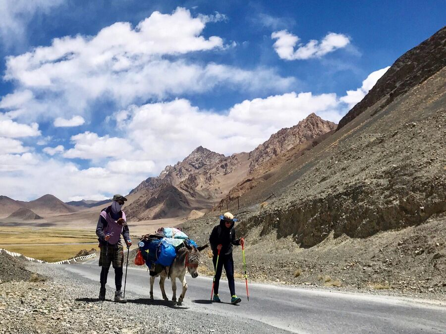 Памирский тракт, высокогорье