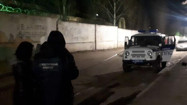 Нападение наркозакладчиков на сотрудников ППС возле дома № 2 по Киевскому проезду города Саратова. 21 декабря 2019