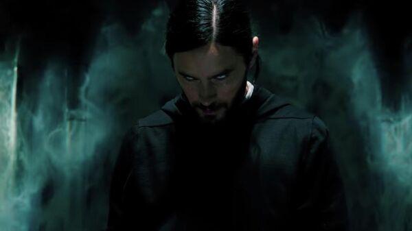 Кадр из фильма Морбиус