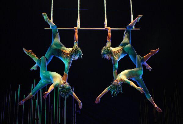 Cirque du Soleil решил покорить Москву