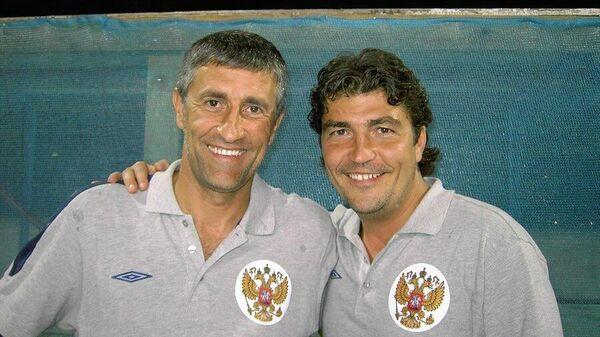 Николай Писарев и Кике Сетьен (слева)