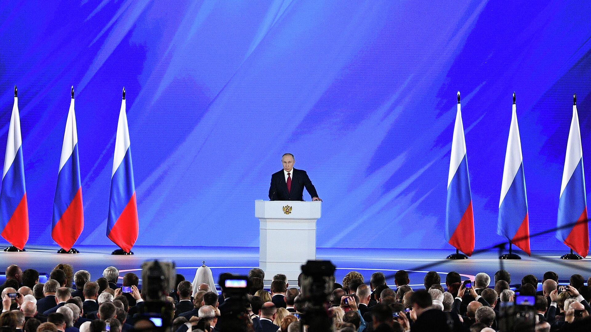 Завершилась аккредитация журналистов на послание Путина