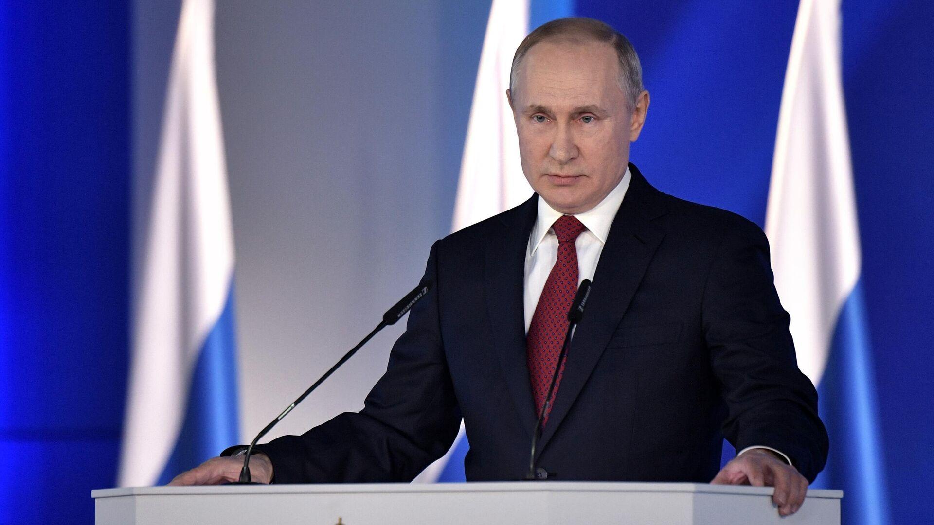 Путин огласит послание Федеральному собранию 21 апреля