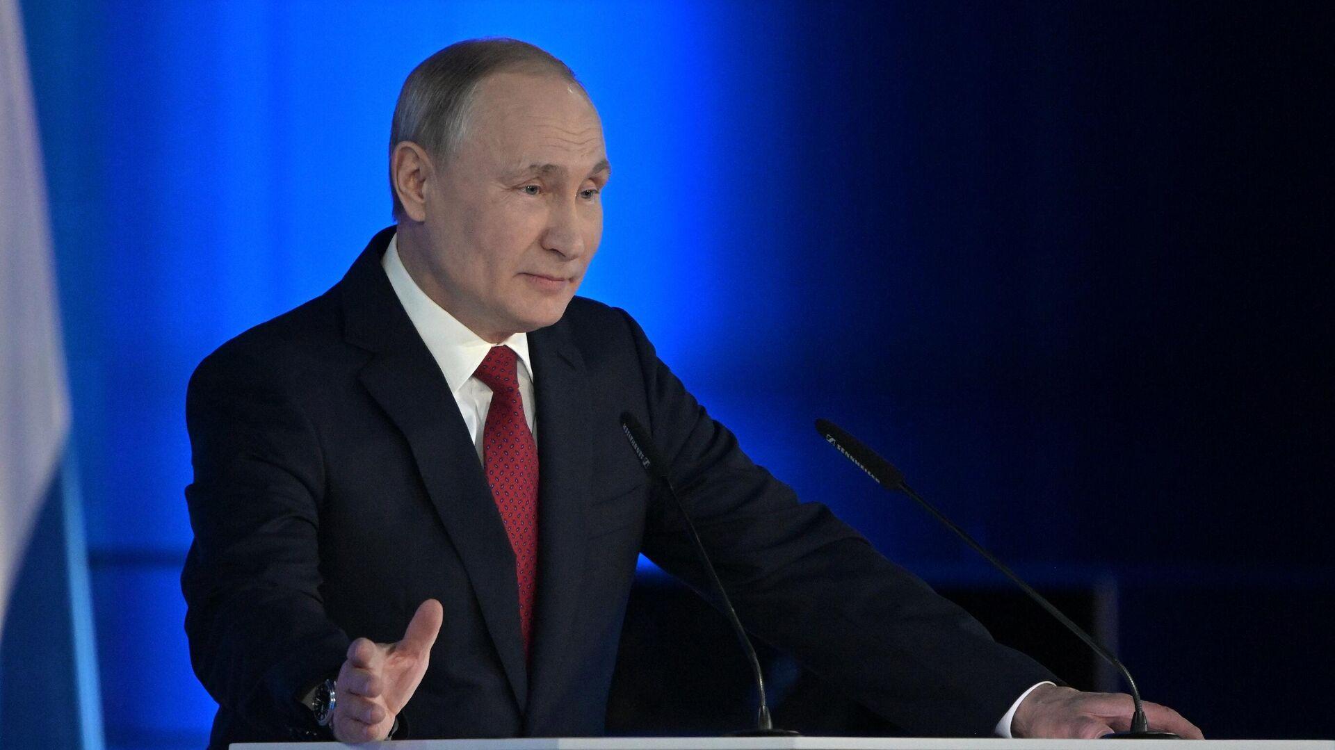 """В Кремле заявили о """"постковидной"""" повестке послания Путина"""