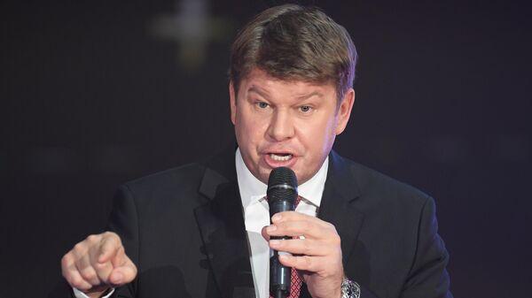 Спортивный комментатор Дмитрий Губерниев