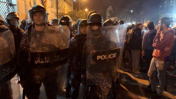 Протестные акции в Бейруте