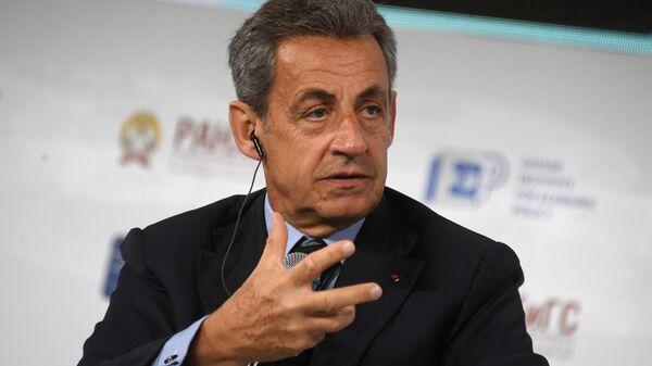 Николя Саркози на XI Гайдаровском форуме в Москве