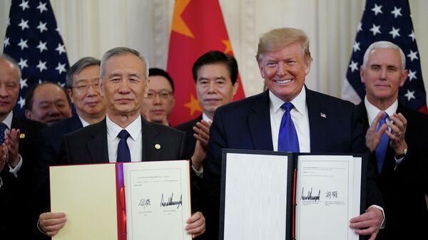 Первый пакт уже подписали. Трамп и Си опять готовы дружить хозяйствами