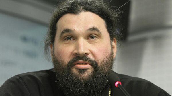 Проректор Православного Свято-Тихоновского гуманитарного университета города Москвы Отец Георгий Ореханов