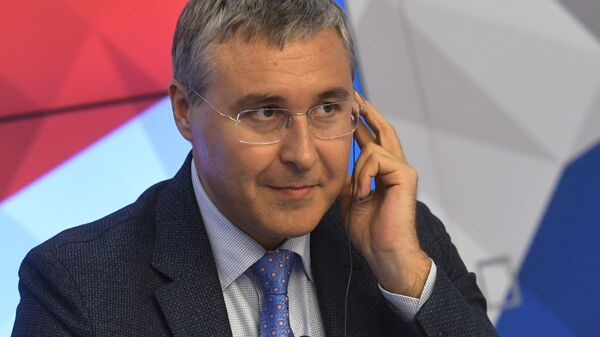 Ректор Тюменского государственного университета Валерий Фальков