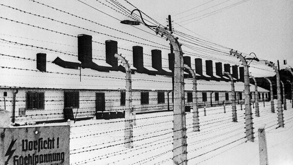 Концентрационный лагерь Освенцим на территории Польши