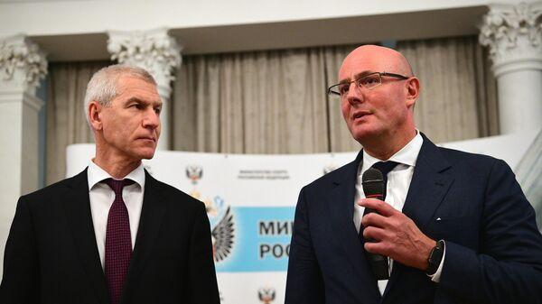 Олег Матыцин (слева) и Дмитрий Чернышенк