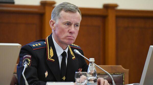 Первый заместитель министра внутренних дел РФ генерал-полковник полиции Александр Горовой