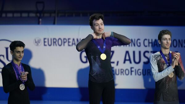 Призеры мужского одиночного катания на чемпионате Европы