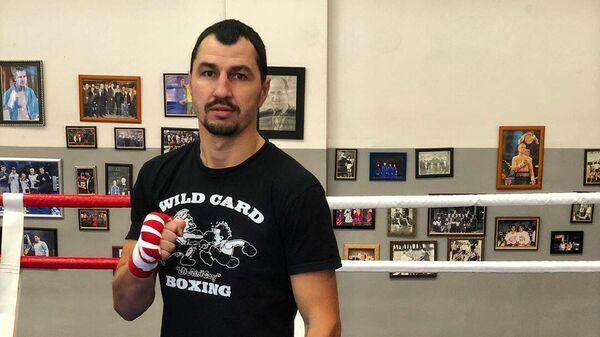 Украинский боксер Виктор Постол