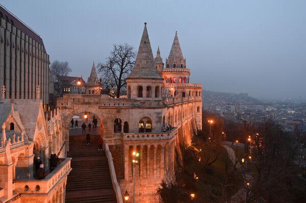 Рыбацкий бастион на Крепостном холме в Буде, в Будапеште