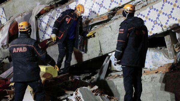 Последствия землетрясения на востоке Турции. 24 января 2020