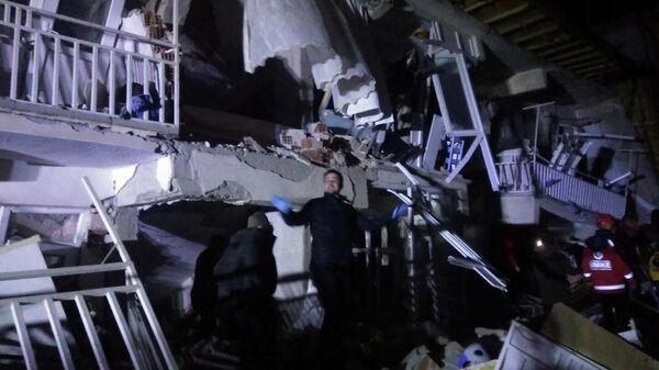 Ликвидация последствий землетрясения на востоке Турции. 24 января 2020