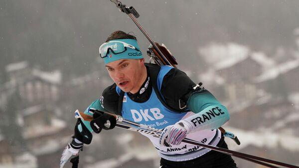 Биатлонист Эмильен Жаклен (Франция)