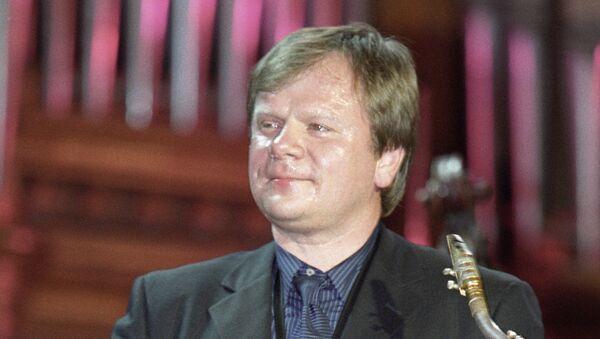 Саксофонист Игорь Бутман