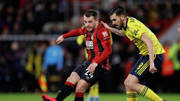 Soccer Football - FA Cup Fourth Round - AFC Bournemouth v Arsenal - Vitality Stadium, Bournemouth, Britain - January 27, 2020   Arsenal's Dani Ceballos in action with Bournemouth's Ryan Fraser     Action Images via Reuters/John Sibley
