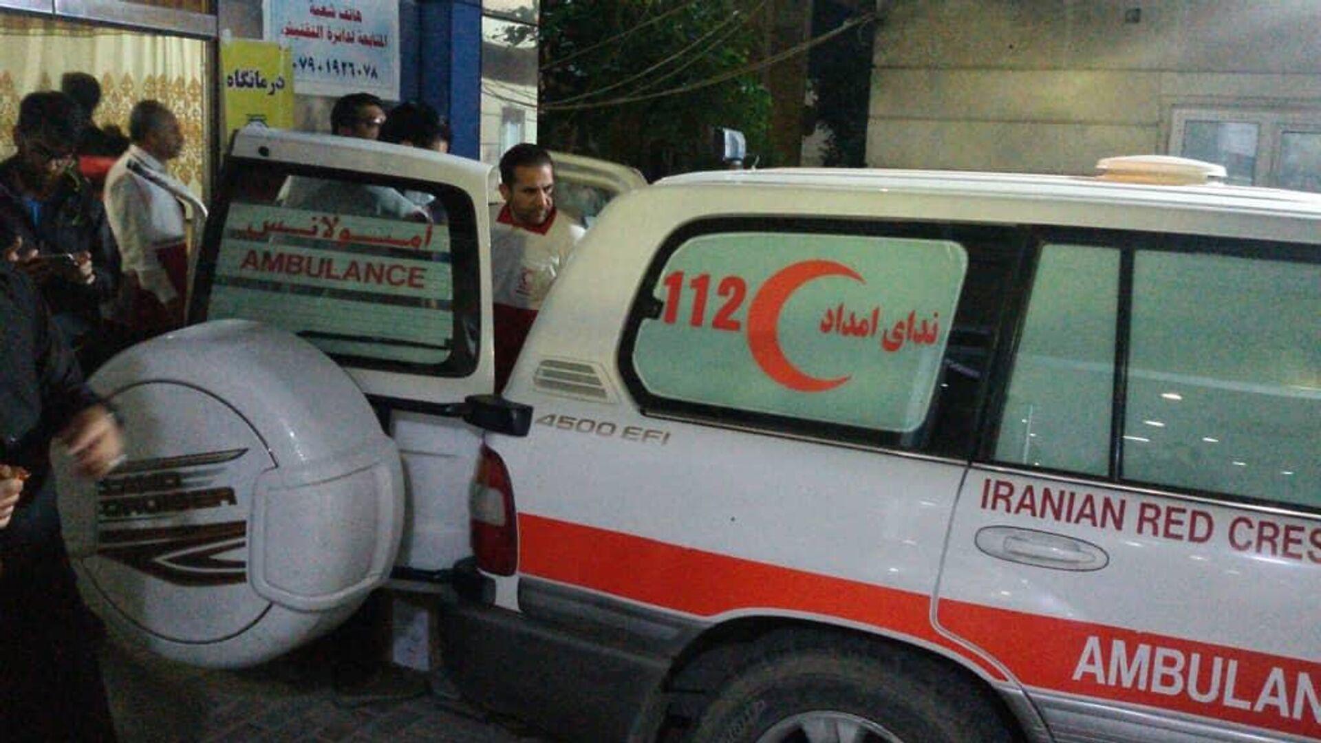 Автомобиль скорой помощи в Иране - РИА Новости, 1920, 04.08.2021