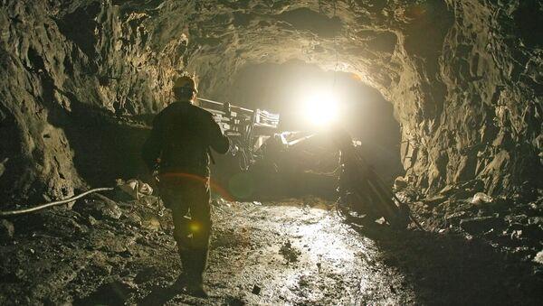 Шахта рудника. Архивное фото