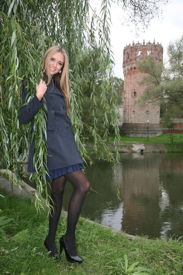 Ксения Сухинова будет представлять Россию на конкурсе Мисс Мира-2008