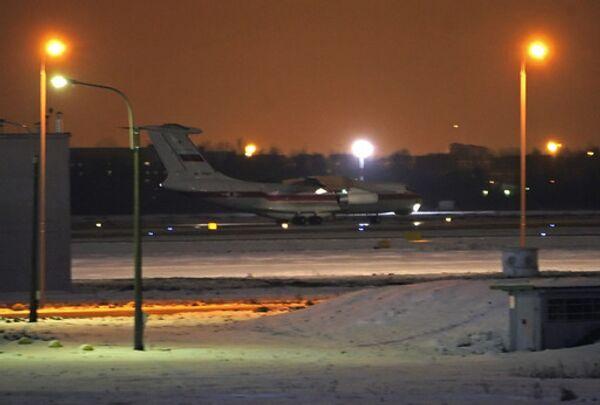 Самолет с телами погибших под Эйлатом россиян прибыл в Санкт-Петербург