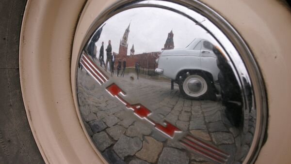 Автомобили российского производства. Архив