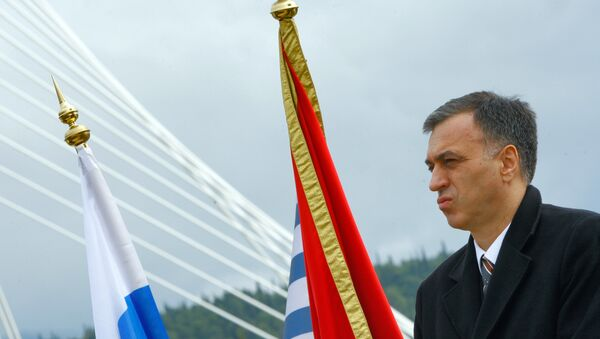 Президент Черногории Филип Вуянович. Архивное фото