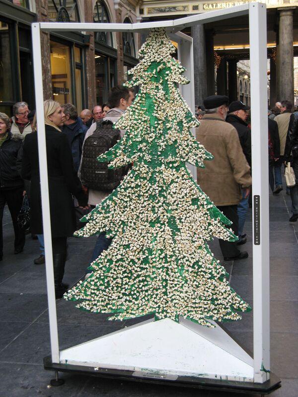 Брюссель готовится к Рождеству