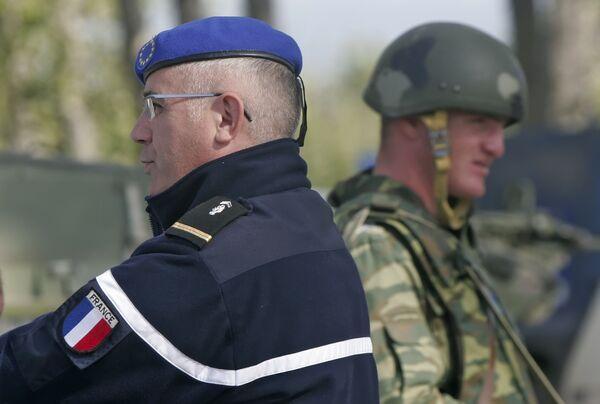 Обстановка в зоне безопасности на границе Грузии и Южной Осетии