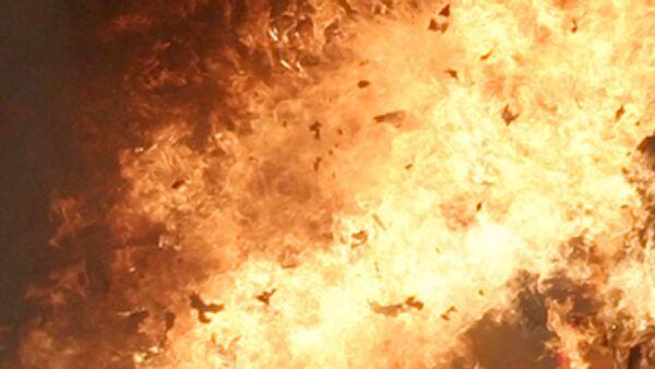 Пожар произошел на животноводческой ферма в Северной Осетии