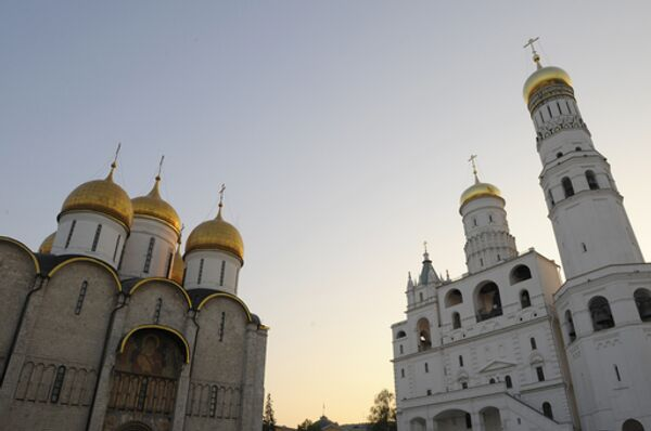 Успенский собор и колокольня Ивана Великого