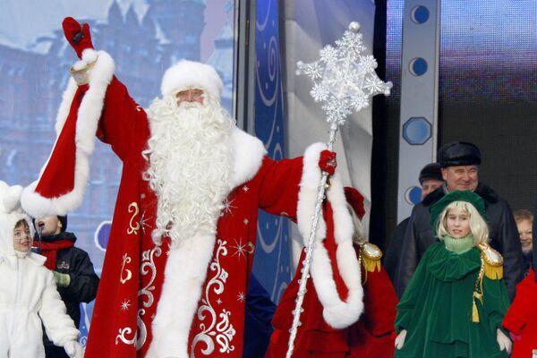 Гнус и бациллы постараются сорвать приезд Деда Мороза в Москву