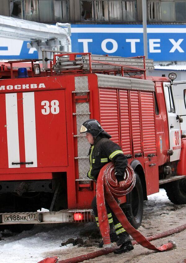 ва человека без определенного места жительства сгорели и один пострадал в субботу вечером при пожаре в сарае на севере Москвы