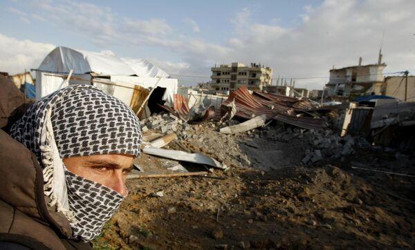 На южной границе сектора Газа
