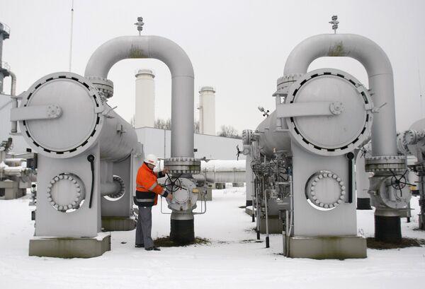Газовая компрессорная станция в Германии