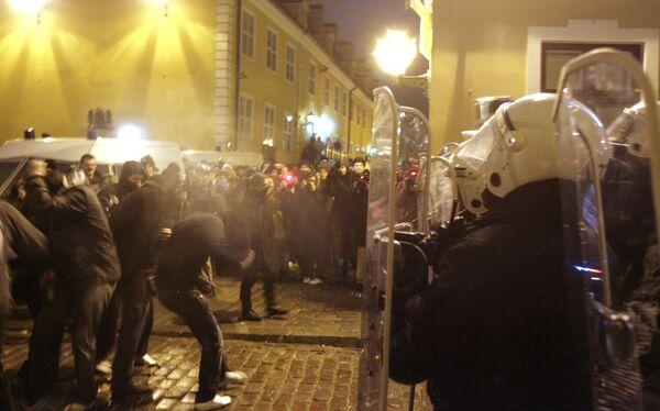 13 января 2009 года надолго останется в новейшей латвийской истории: впервые в центре столицы прошли массовые беспорядки