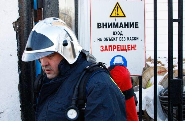 Пожар в комплексе Банная усадьба в Москве локализован