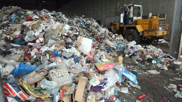 Лужков заявляет о безопасности мусоросжигательных заводов для экологии