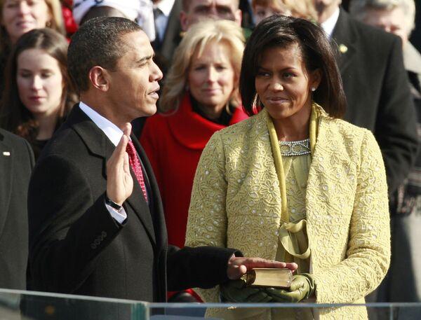 Инаугурационная речь президента Барака Обамы