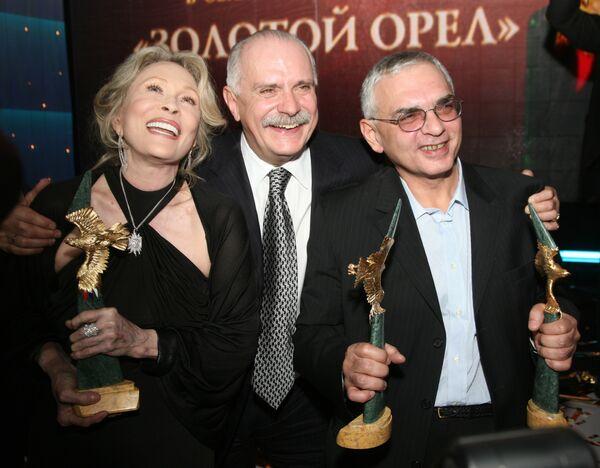 VII торжественная церемония вручения Национальной премии в области кинематографии Золотой орел прошла в Москве